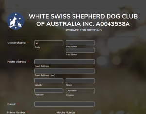 White Swiss Shepherd Breeding
